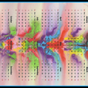 2016 Calendars - Chakra Dance