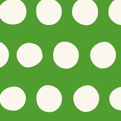 Jumbo Dots: Grass Green