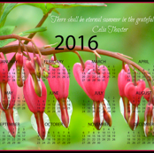 2016 Calendars - Grateful Hearts