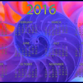 2016 Calendars - Nautilus Dance