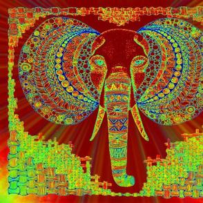 zen Elephant gem