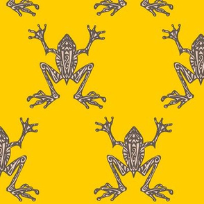 Fabulous Frogs (Bold Yellow) (Updated Design)