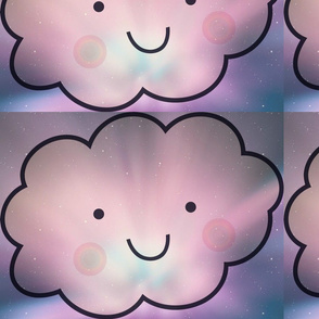 Kawaii Galaxy Clouds