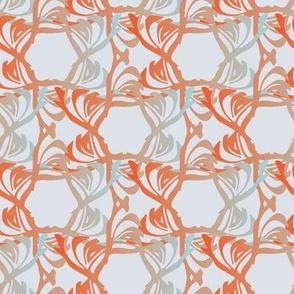 Floral Trellis - Mist