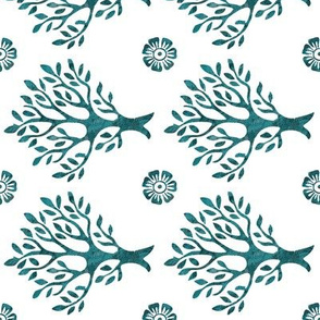 white-tree-stamp-VECTOR-w-corner-flwrs-FULLSIZE4in-150-lgdpforestgrnbatiktree-white-ROTATED