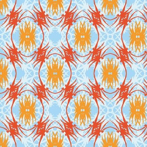 Thatch and Thread - Tangerine