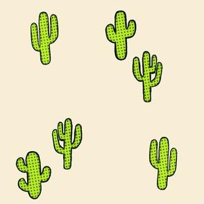 Cactus on Sand