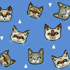 Cat Faces 4