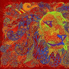 Lion zen gem