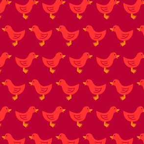 Duck Waddle (Red)