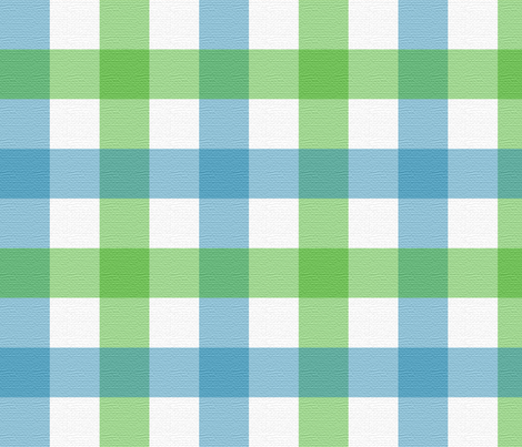 Blues_and_Greens_ Large Plaid