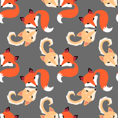 Fox and Doge with Tails