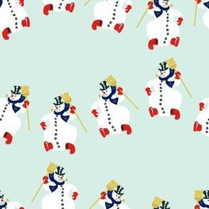 Frosty Parade Lg Scale- Mint