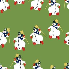 Frosty Parade Lg Scale- Olive