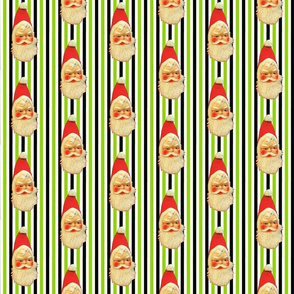 Retro Santa stripe