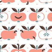 äpple in warm Pink