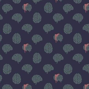 Zombie brain polka dots - colorway 02