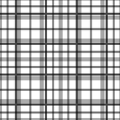 Plaid in Black and White