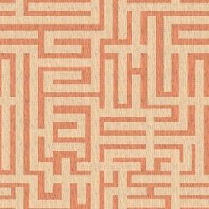 a-maze-ing - papaya whip