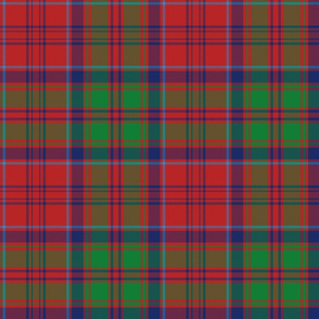 Grant tartan - red / green / navy