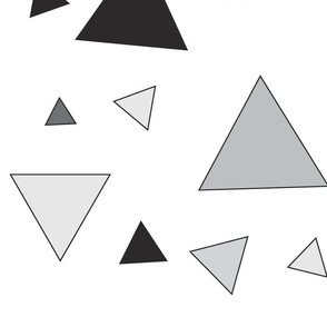 Grey triangle chaos