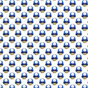 Blue Mario Mushroom