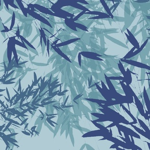 Blue Bamboo Forest