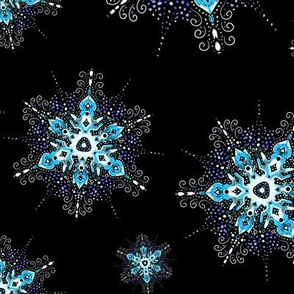 winter Snowflake filigree