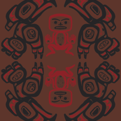 Twin Peaks The Great Northern Lodge Tribal Painting