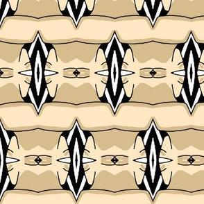 Abstract Decorative Stripe