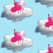 Ethel flying high