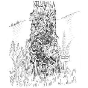 Prince Rupert's Shoe Tree