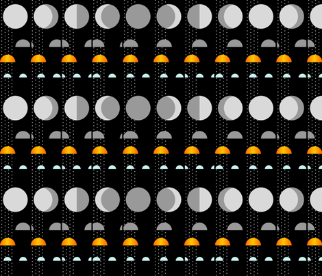 lunar cycle over time