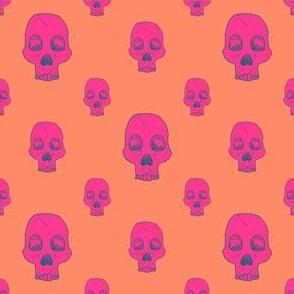 Neon Skull Fill