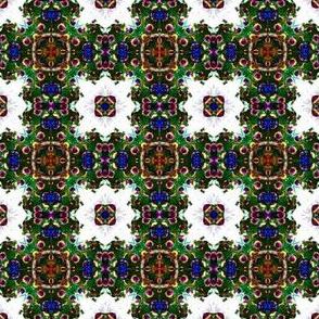 peacock lattice