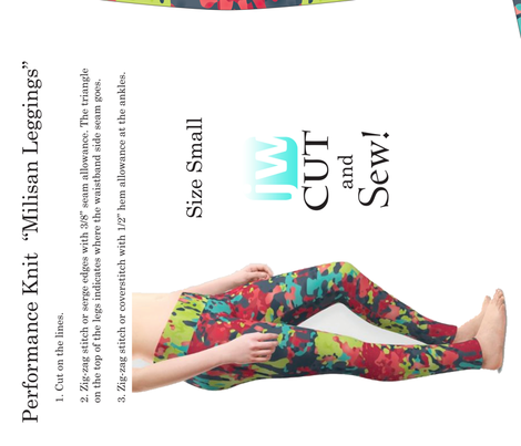 Milisan Leggings (Small) for Performance Knit Fabric