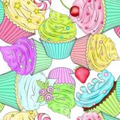 Cupcake scramble
