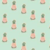 Pineapples on Mint Tea, Diagonal Drop