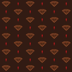 New Diamonds_brown_orange