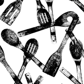 """Cooking Spoons - Large (6"""")"""