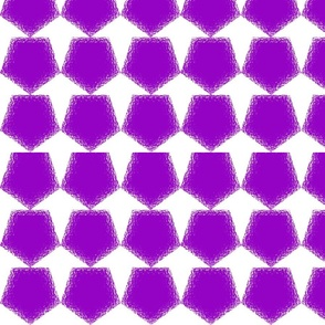 Pentagon Purple