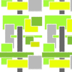 Citron & Green Geometric