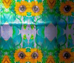 #1 Sunflower Kaleidoscope