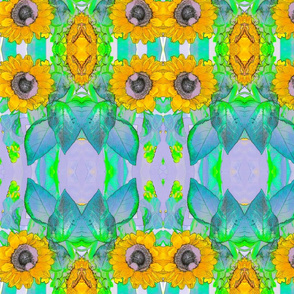 #1 Sunflower Kaleidoscope