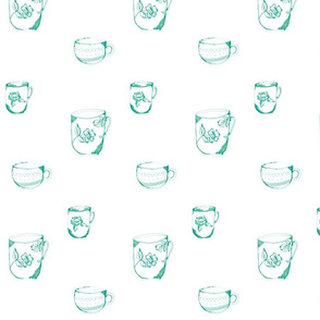 sketched_teacup_trio-green
