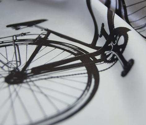 "Bike Silhouette (7"")"