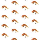 Watercolour Jumping Fox (Mini)