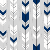 Retro Navy Arrows