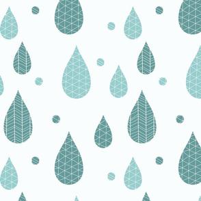 Rain drop pattern 01