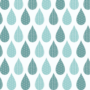 Rain drop pattern 02